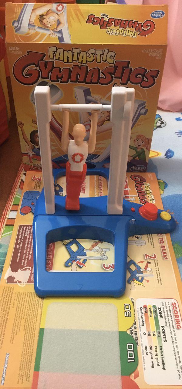 Gymnast toy