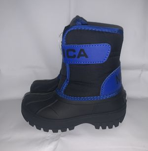 Nautica NS-83 Albermarle Kids Snow Rain Toddler Boots Black Blue for Sale in The Bronx, NY