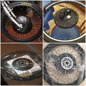 New!! Motorized bike wheel, motorized bicycle, motorized front bike wheel, electric front bicycle wheel for Sale in Phoenix, AZ