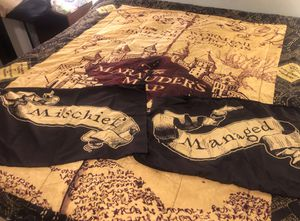 Marauders Map comforter set, Full for Sale in Columbia, MO