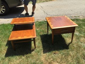 Lane dovetail end tables for Sale in Pittsburgh, PA