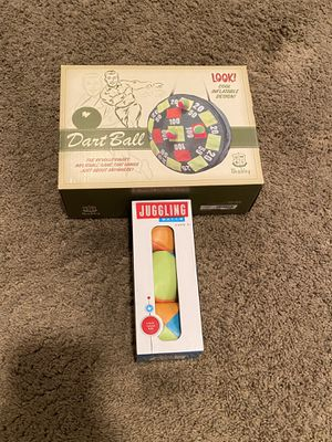 Lot of 2 Games and Activities/ Dart Ball/ Juggling Balls/ Kids Toys for Sale in Seal Beach, CA