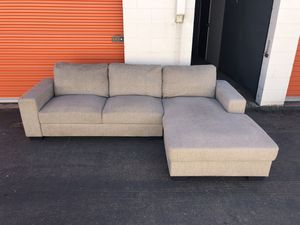 Light Gray Sectional Couch -I can deliver for Sale in San Diego, CA