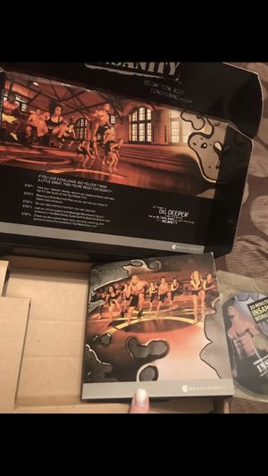 Insanity workout for Sale in Santa Fe, TX
