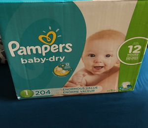 Pampers diapers for Sale in Windsor, CT