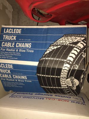 Snow tire chains for Sale in San Ramon, CA