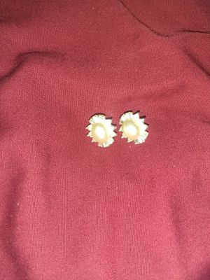 14k gold Pearl and 1/2 ct diamonds for Sale in Alvin, TX