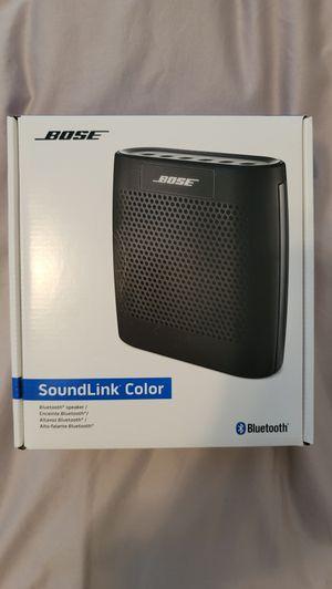 Brand New Bose Soundlink Color w/Bose case for Sale in Riverview, FL