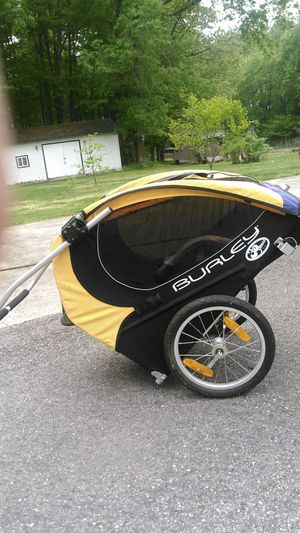 BURLEY Solo bike trailer all parts included for Sale in Washington, DC