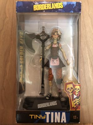McFarlane Toys Borderlands Tiny Tina Collectible Action Figure for Sale in Durham, NC