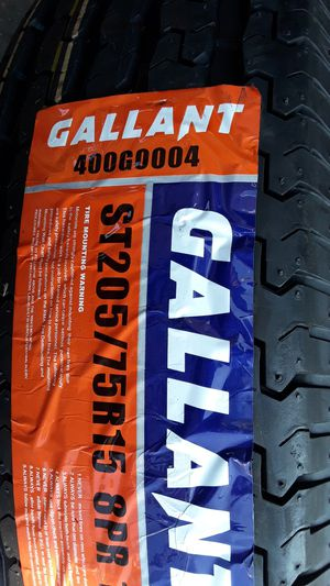 4] NEW TRAILER TIRES ST205/75R15 8PLY for Sale in Los Angeles, CA