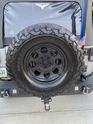 BF Goodrich KM3 Tire & Pro Comp Alloy Wheel Package. for Sale in Suwanee, GA