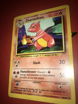 charmeleon pokemon card 24/102 for Sale in Essex, MD