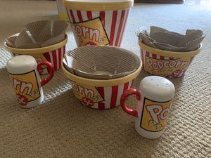 Dos cajas de tazones para palomitas for Sale in Fresno, CA