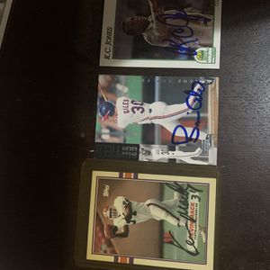 Baseball Autographed Cards for Sale in Groveport, OH