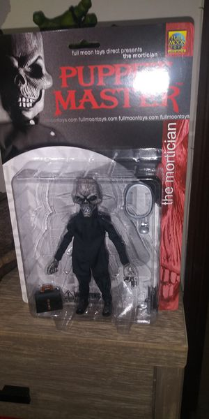 Puppet master full moon toys the mortician figure for Sale in South El Monte, CA