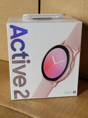 Samsung Galaxy Watch Active 2 Pink Gold NEW for Sale in Houston, TX