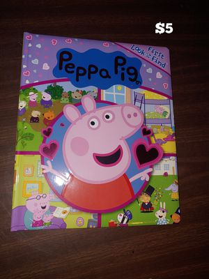 Pepa pig book for Sale in Kansas City, MO