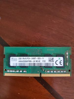 Ram 2GB. Pc4 DDR4-2400T labtop memory for Sale in Chicago, IL