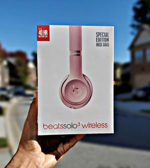 Beats Solo³ Wireless (Rose Gold) for Sale in Atlanta, GA