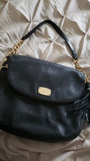 Mk authentic black leather bag for Sale in Fairfax Station, VA