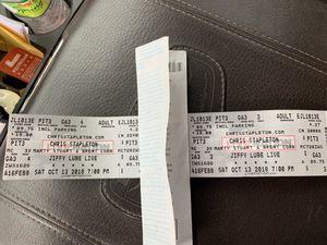 Chris Stapleton tickets for Sale in Front Royal, VA