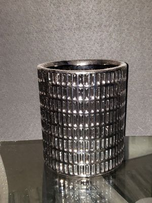 Chrome vase for Sale in Frederick, MD