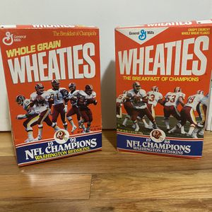 Redskins Wheaties Boxes for Sale in The Plains, VA