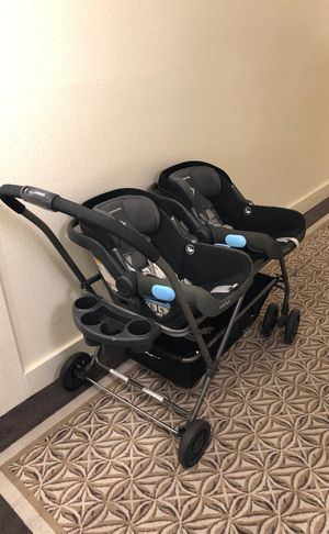 Joovy Twinroo Car seat Frame Double Stroller for Sale in Los Angeles, CA