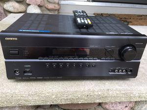 Onkyo 5.1 dolby receiver 100 warr for Sale in Bettendorf, IA