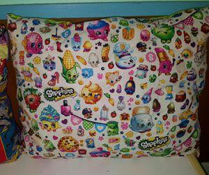 Shopkins handmade decorative pillow for Sale in Hillsboro, MO
