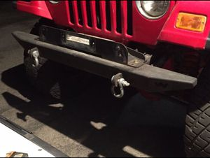 Jeep Wrangler TJ 1997-2006 bumpers for Sale in Corona, CA