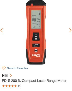 Hilti PD S for Sale in San Leandro, CA