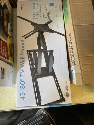 Extended full motion tv mount for Sale in Bristol, VA