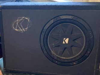 Kicker Subwoofer Speaker for Sale in Piscataway,  NJ