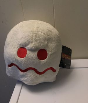 PAC-MAN Plush Ghost(White) collectible plush for Sale for sale  Okeechobee, FL