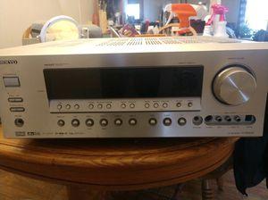 ONKYO surround sound receiver model TX-SR603x for Sale in Cedar Hill, TX