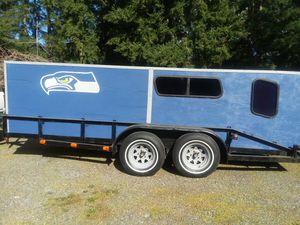 Seahawks Sleeper Camper Trailer for Sale in Graham, WA