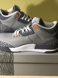 Air Jordan 3 Retro Cool Grey Size 8M /6.5W DS for Sale in Silver Spring,  MD