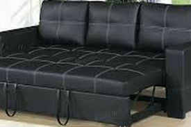 New‼️🎊🎉Black Convertible Sofa Bed/ Sleeper • SAME DAY Delivery 🚚⚡ • FREE Financing 🔥 NOT CREDIT CHECK ‼️ • Apply Online Now!! Easy & Fast for Sale in North Las Vegas,  NV
