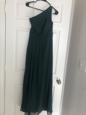 David's Bridal bridesmaid Dress - F18055 Juniper for Sale in Fort Myers, FL