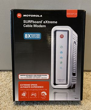 Motorola Surfboard DOCSIS 3.0 Modem for Sale in Seattle, WA