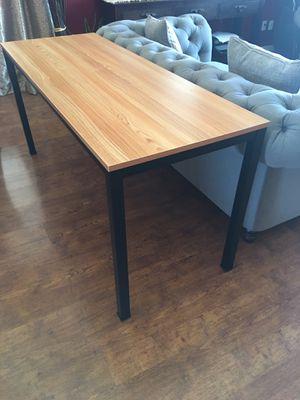 """Desk table 63"""" wide by 23.7"""" deep by 29.5"""" tall / brand new / sleek modern desk for Sale in Glendale, AZ"""