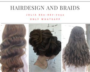 Evening, wedding, Photoshoot occasional hairstyles for Sale in Miami, FL