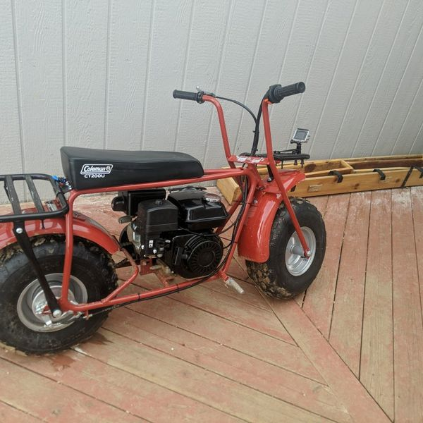 Coleman Mini Bike 196 Cc