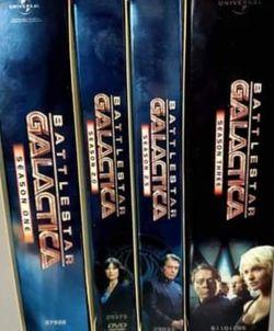 Battlestar Galactica season's 1-3 DVD BOX SET for Sale in Baytown,  TX