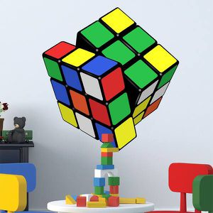 Full color Rubik's cube children's room full color wall for Sale in Addison, TX
