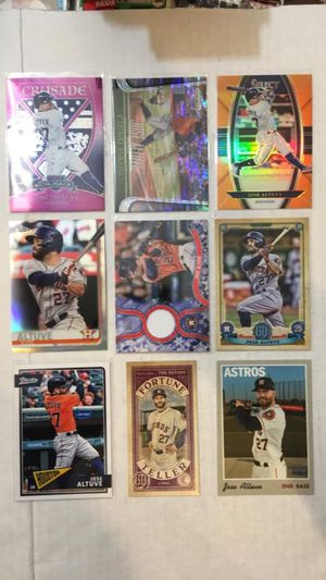 Jose altuve Baseball Cards for Sale in Bothell, WA