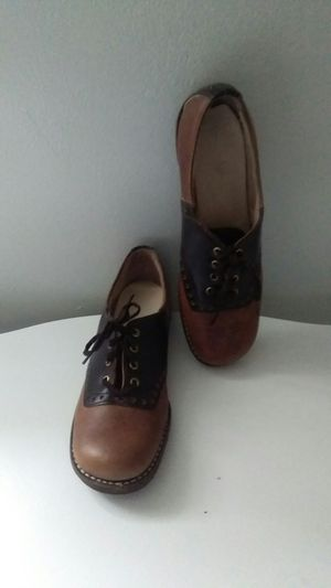 Original 1940's woman's leather Oxford Shoes never worn. Size 6 for Sale for sale  Seymour, TN