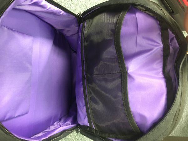 Black Tavik Laptop Backpack